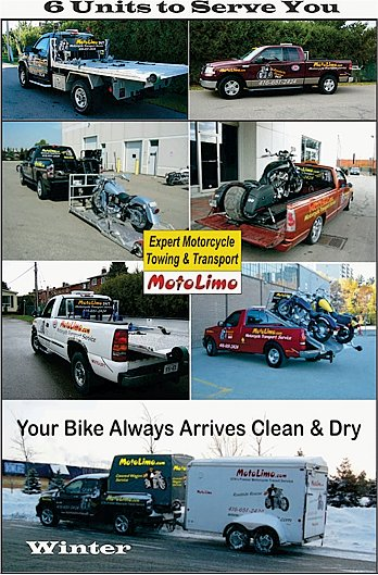 Expert Motorcycle Towing & Transport